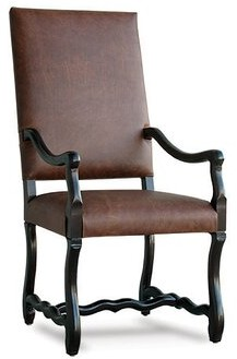 Uniquely Furnished Albany Leather Arm Chair Uniquely Furnished