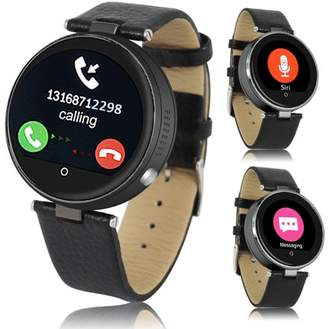 Indigi H365 HD Touch Screen Bluetooth-Sync iOS and Android Compatible SmartWatch & Phone w/ Heart Rate Sensor + SIRI