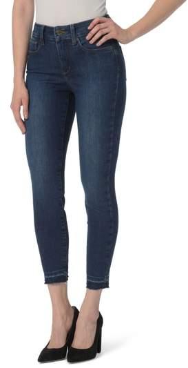 Ami Release Hem Stretch Ankle Skinny Jeans