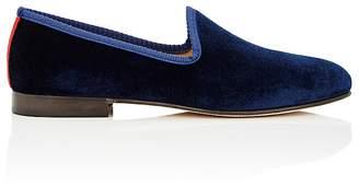 Del Toro Men's Prince U Velvet Venetian Slippers
