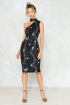 Nasty Gal It's Magic Sequin Star Dress