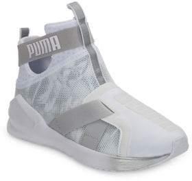 Puma Fierce Strap Hi-Top Slip-On Sneakers