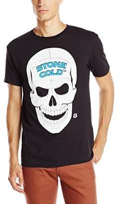 WWE Men's Legends Stone Cold Steve Austin 3 16 and Skull Licensed T-Shirt