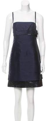 Valentino Embellished Mini Dress