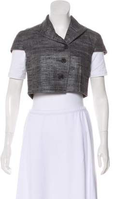 Akris Punto Silk Tweed Bolero