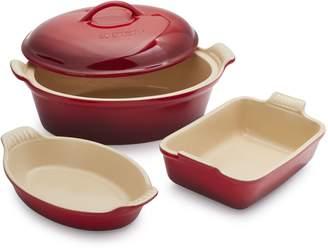 Le Creuset 4-Piece Stoneware Set