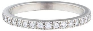 Tiffany & Co. Platinum Diamond Eternity Band $1,675 thestylecure.com