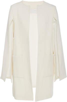 Leal Daccarett Alexandra Cape-Back Wool Jacket