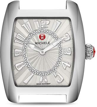 MICHELE Urban Mini Diamond Dial Watch Head, 29 x 30mm $895 thestylecure.com