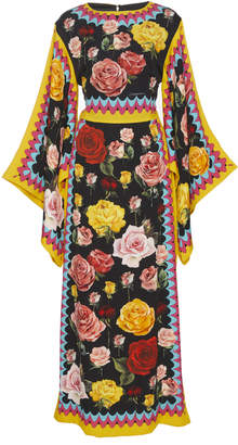 Dolce & Gabbana Floral Caftan