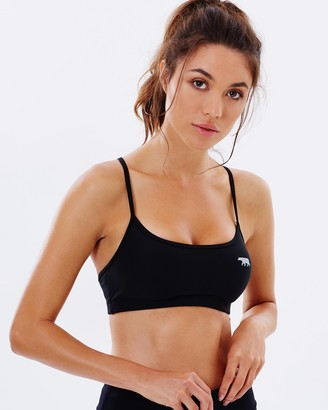 Running Bare Push Up Crop Top
