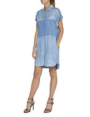 Replay Women's W9528a.000.54c432r Dress, Blue (Medium 9), X-Large