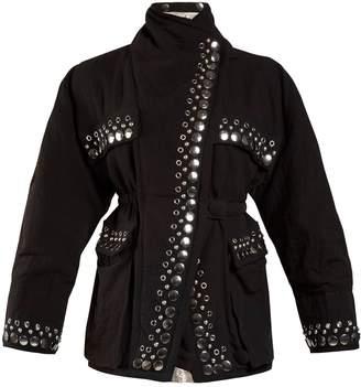 Isabel Marant Emmy reversible stud-embellished jacket