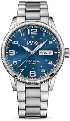 BOSS Hugo Boss Pilot Watch, 44mm $295 thestylecure.com