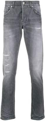 Dondup washed regular jeans