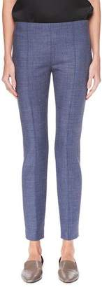 The Row Cosso Wool-Stretch Skinny Pants