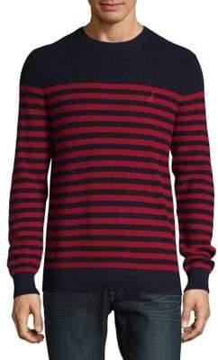 Nautica Cotton Striped Sweater