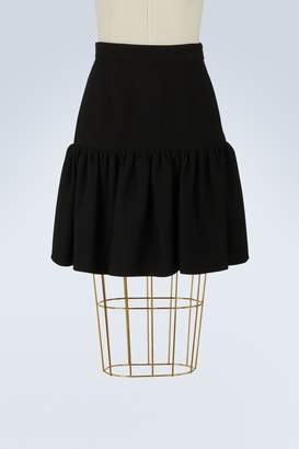 Miu Miu Iconic shape skirt