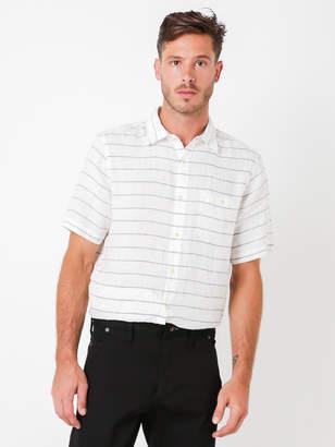 Denham Jeans Rhys Stripe Short Sleeve Shirt