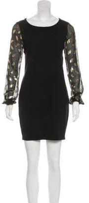 Diane von Furstenberg Wool & Silk Mini Dress