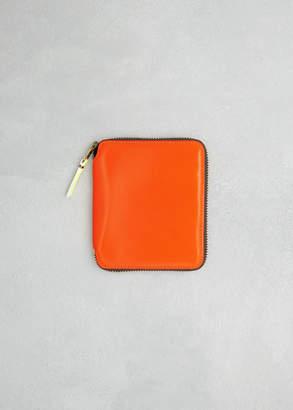 Comme des Garcons Super Fluo Leather Line Wallet
