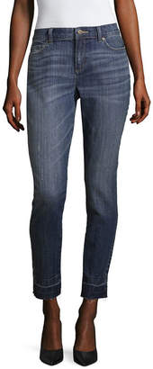 Liz Claiborne Released Hem Boyfriend Fit Skinny Jean