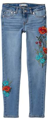 Levi's 710 Ankle Super Skinny Jeans (Big Girls)