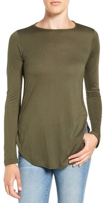 Women's Amour Vert 'Nicolette' Long Sleeve Tee $78 thestylecure.com