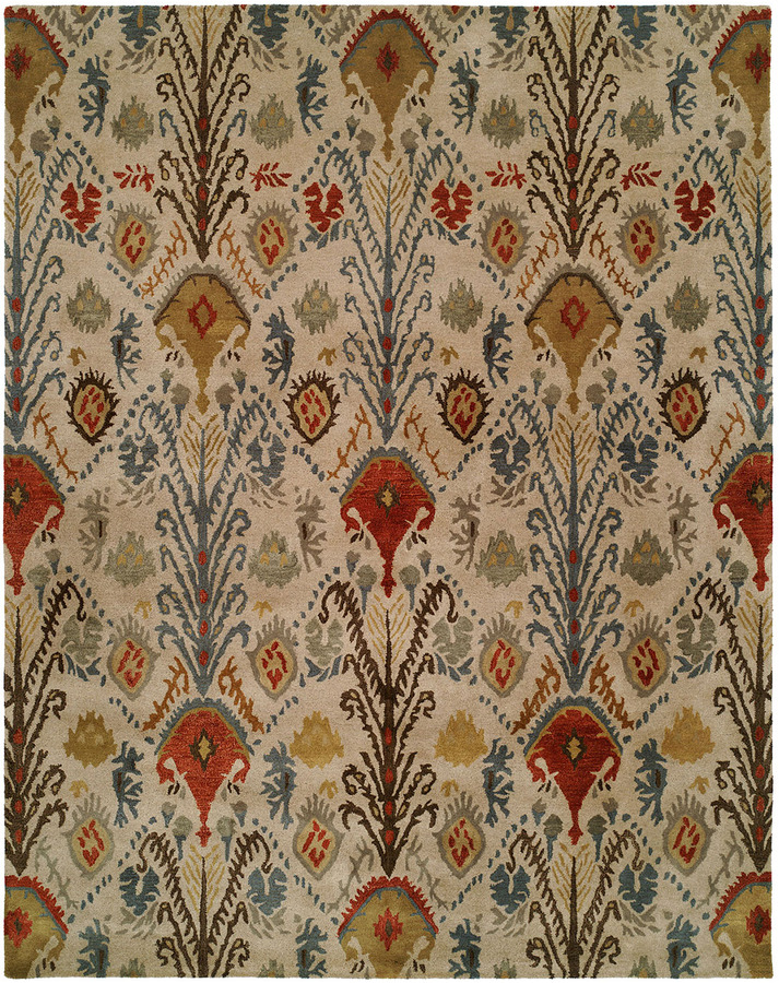 Horchow Kalaty Rug Corporation Rusted Plume Rug