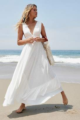 Americana Fp Beach Sunday Sunshine Maxi Dress