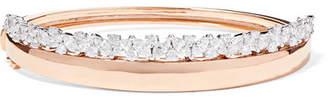 YEPREM 18-karat Rose Gold, White Gold And Diamond Bracelet