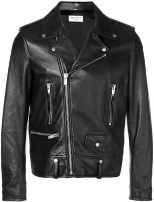 Saint Laurent slim biker jacket