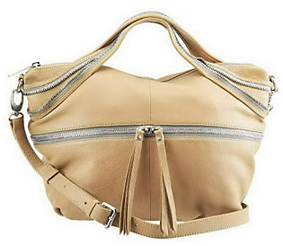 As Is Kelsi Dagger Mackenzie Pebble Leather Satchel $94 thestylecure.com