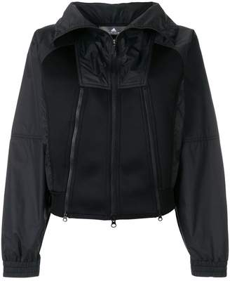adidas by Stella McCartney scuba-panelled shell jacket
