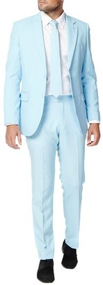 Men's Opposuits 'Cool Blue' Trim Fit Two-Piece Suit With Tie $99.99 thestylecure.com