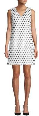 Laundry by Shelli Segal Novelty Sequin-Embellished Dress