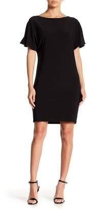 Marina Short Cocoon Cowl Back Dresss