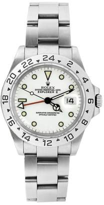 Rolex Explorer Il 16570 Stainless Steel White Face Mens Watch