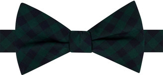 Tommy Hilfiger Men's Micro Buffalo Pre-Tied Bow Tie $49.50 thestylecure.com