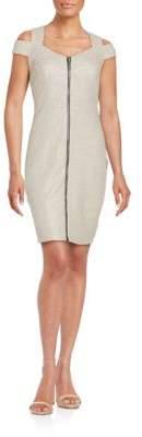 Jax Cold Shoulder Sheath Dress