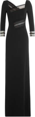 Roland Mouret Asymmetric Dress with Lace