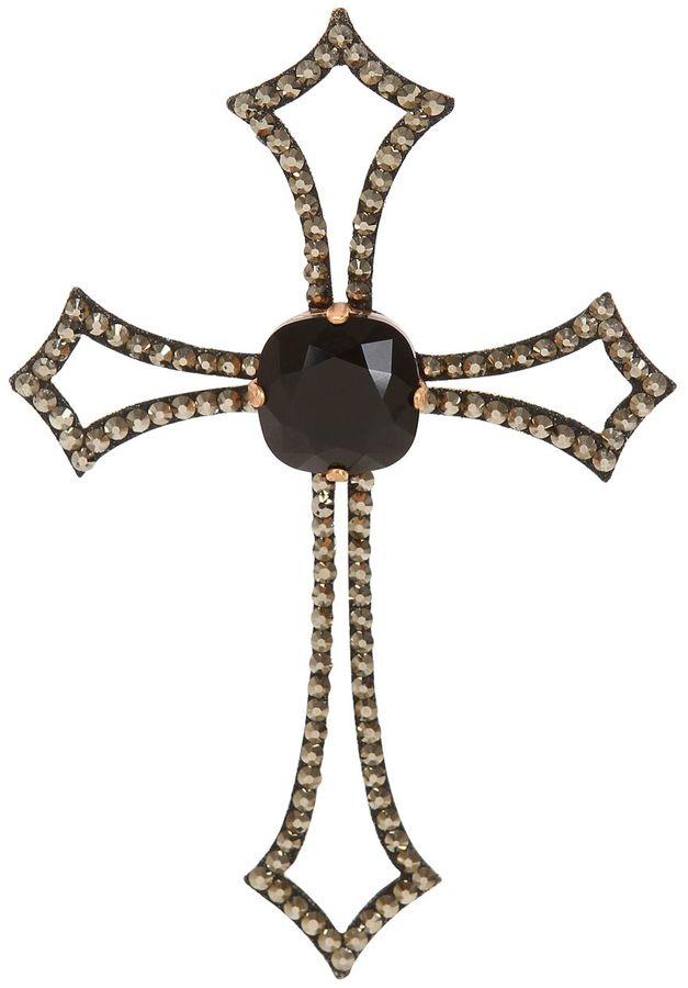Marbella Swarovski Crystal Cross Adhesive Tattoo