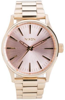 Nixon Sentry 38 Ss Watch $199.95 thestylecure.com