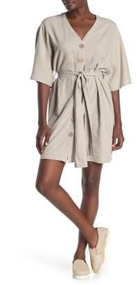 Velvet Heart Accalia Dolman Sleeve Deep V-Neck Dress