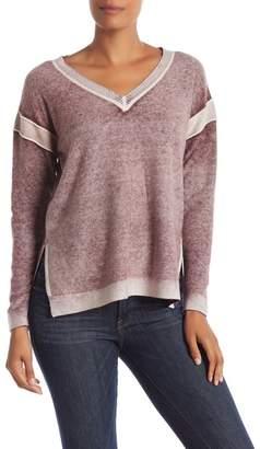 Sigrid Olsen Faded Hi-Lo Cashmere Sweater