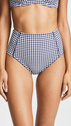 Kate Spade Crosby Landing High Waist Bikini Bottoms