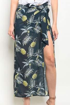Alythea Navy/yellow P.A. Skirt