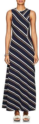 Cédric Charlier Women's Striped Sleeveless Maxi Dress