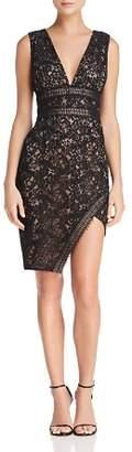 Style Stalker Stylestalker Marjella Asymmetric Lace Dress