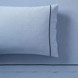 Pottery Barn Teen Classic Oxford Sheet Set, King, Bell Blue